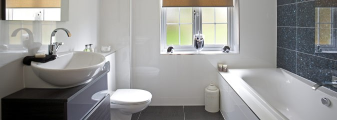 Streamlined bathroom