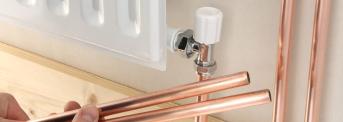 Gas heating plumbers